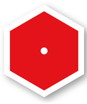 Ledband Nationalpark, Röd ledmarkering, flexibelt