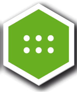 Ledband Nationalpark, Grön ledmarkering, flexibelt